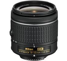 Nikon objektiv Nikkor 18-55mm f/3.5-5.6G EDII (3,0x) AF-P DX - JAA827DA