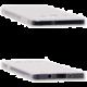 EPICO pružný plastový kryt pro A3 (A300F) RONNY GLOSS - bílý transparentní
