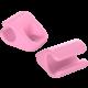 Allocacoc CableFix 8x, růžová