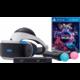 PlayStation VR - startovací balíček  + PlayStation 4 - Move Controller, twin pack, černý + PlayStation 4 - Camera + PlayStation VR Worlds (PS4 VR)