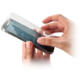 Forever tvrzené sklo na displej pro Apple iPhone 5S, purpurové
