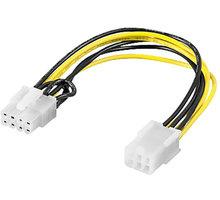 PremiumCord Redukce napájení PCI Express 6 pin > PCI Express 8 pin - kn-15