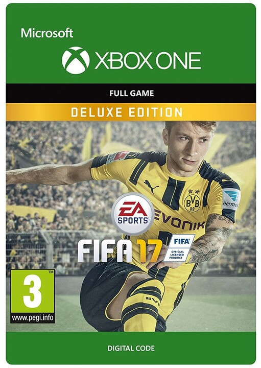 FIFA 17: Deluxe Edition (Xbox ONE) - elektronicky