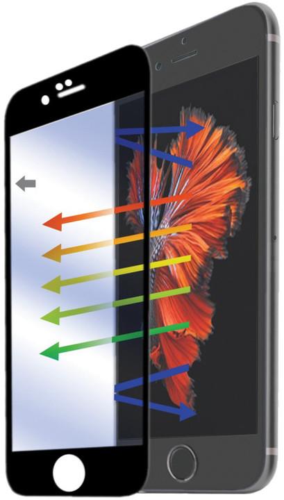 CELLY ochranné tvrzené sklo Glass pro Apple iPhone 6/6S Plus - černá