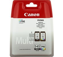 Canon PG-545XL/CL-546XL Photo Value pack + 4x6 Photo Paper (GP-501 50sheets) - 8286B006