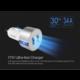 Nillkin Vigor Dual USB Autodobíječ, stříbrná