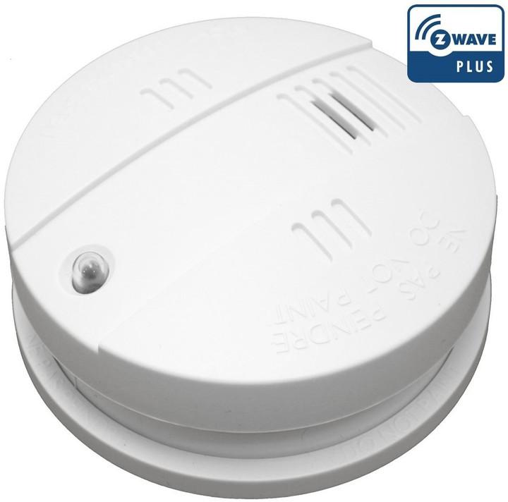 POPP E009402 detektor kouře se sirénou, Z-Wave, 10 let baterie