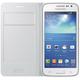 Samsung flipové pouzdro s kapsou EF-WG386B pro Galaxy Core LTE, bílá
