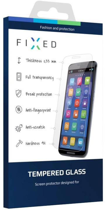 FIXED ochranné tvrzené sklo pro Samsung Galaxy A3 (2017), 0.33 mm