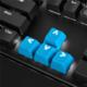 Sharkoon Mechanical Rubber Keyset, Cherry MX/Kailh, světle modré