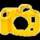 Easy Cover silikonový obal pro Nikon D500, žlutá