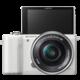 Sony Alpha 5000, bílá + objektiv 16-50mm