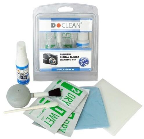 D-Clean Premium Digital Camera Čistící set