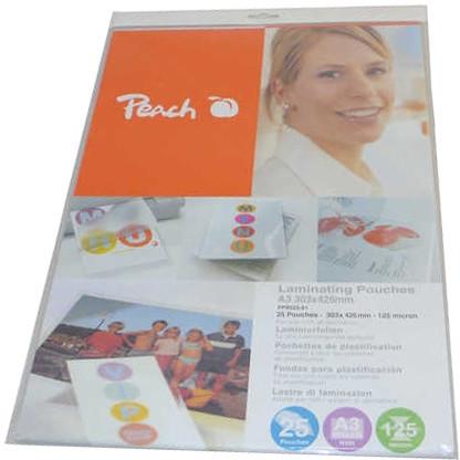 Peach laminovací fólie A3, 125mic, 25ks