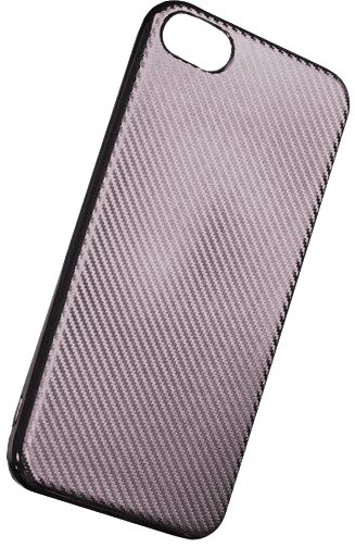 Forever silikonové (TPU) pouzdro pro Samsung Galaxy J3 2017, carbon/stříbrná