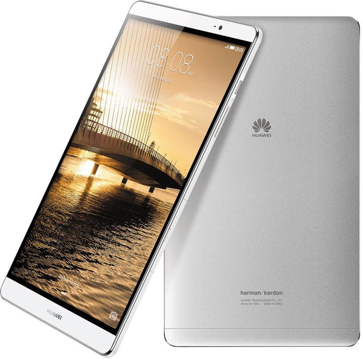 """Huawei M2 8"""" - 16GB, stříbrná"""