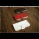 FIXED FIT pouzdro typu kniha pro Apple iPhone 7, bílá