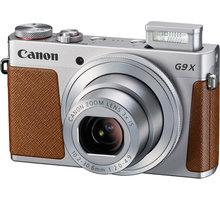 Canon PowerShot G9X, stříbrná - 0924C002 + Paměťová karta SDHC 16GB Kingston (class 10) v ceně 189 Kč