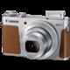 Canon PowerShot G9X, stříbrná  + Paměťová karta SDHC 16GB Kingston (class 10) v ceně 189 Kč + 1000 Kč zpět od Canonu