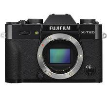 Fujifilm X-T20, tělo, černá - 16542555