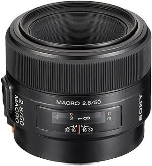 Sony 50mm f/2.8 Macro