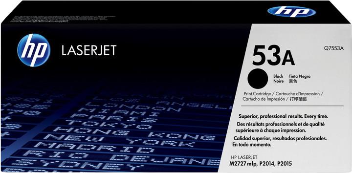 HP Q7553A, černý