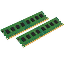 Kingston Value 8GB (2x4GB) DDR3 1600 CL 11 - KVR16N11S8K2/8