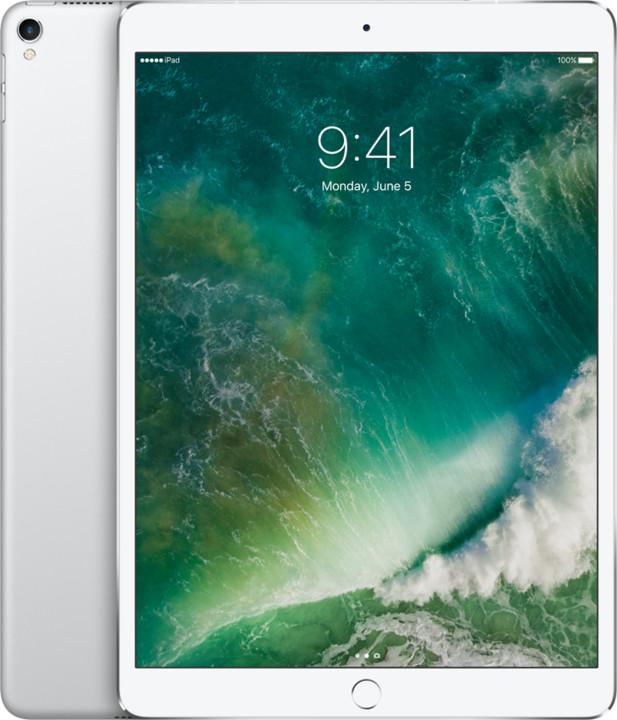 APPLE iPad Pro Wi-Fi + Cellular, 10,5'', 64GB, stříbrná