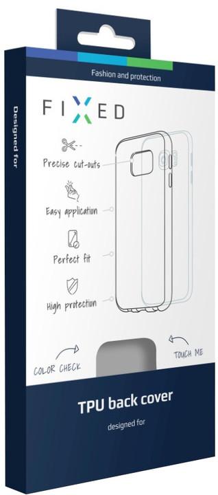 FIXED TPU gelové pouzdro pro Huawei P9 Lite, kouřová