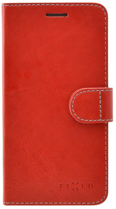 FIXED FIT pouzdro typu kniha pro Apple iPhone 6/6S, červené