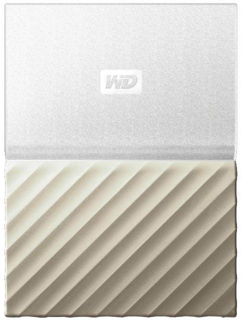 WD My Passport Ultra Metal - 1TB, White/Gold