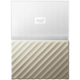 WD My Passport Ultra Metal - 1TB, White/Gold