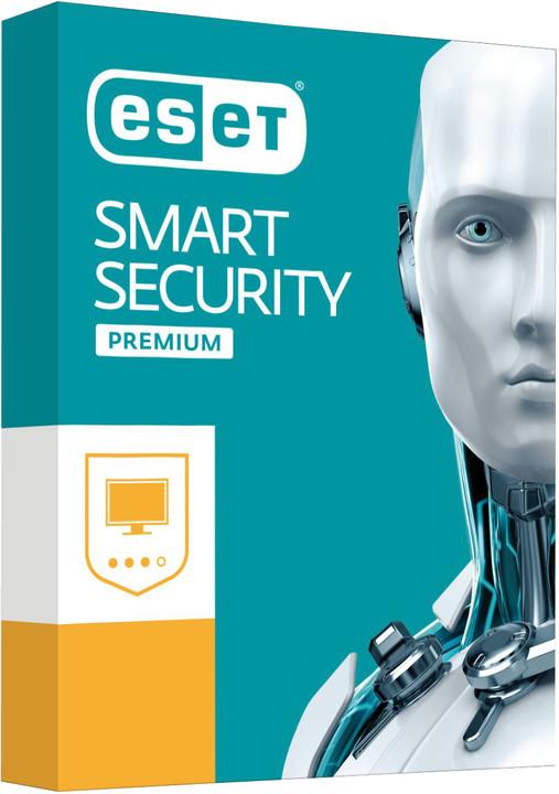 ESET Smart Security Premium 10 pro 3PC na 12 měsíců, prodloužení