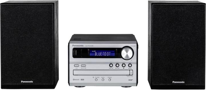 Panasonic SC-PM250BEGS, stříbrná