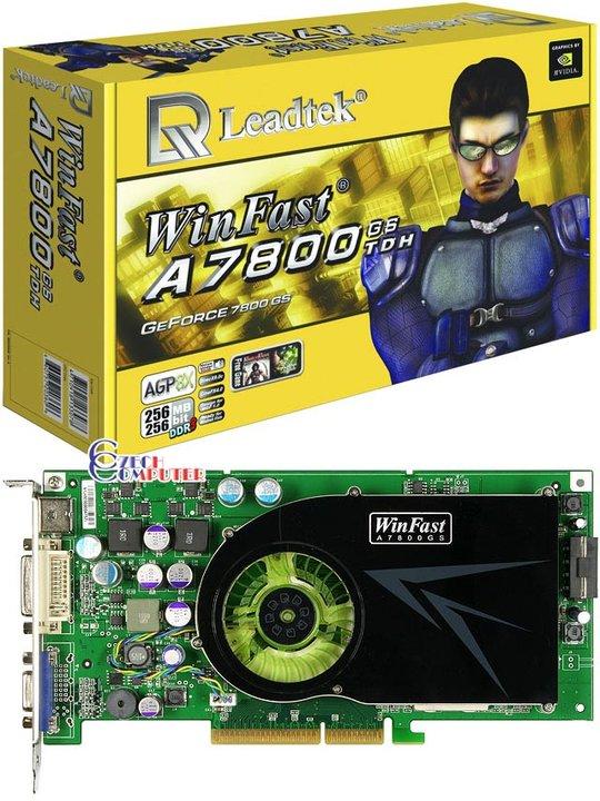 Leadtek Winfast A7800GS 256MB