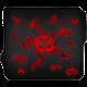 C-TECH Anthea Cyber, červená, látková