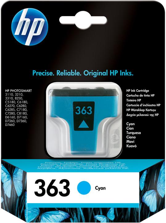 HP C8771EE, no.363, azurová