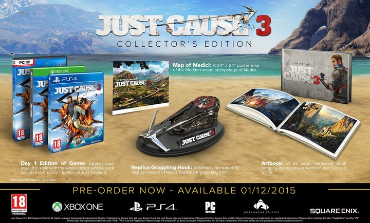 Just Cause 3: Collectors Edition - PC