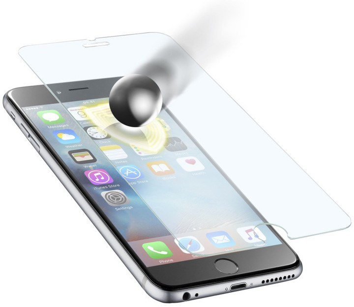 CellularLine Glass TETRA FORCE GLASS ochranné tvrzené sklo pro Apple iPhone 6S Plus, prémiové