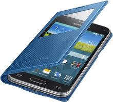 Samsung flipové pouzdro S-view EF-CG800B pro Galaxy S5 mini (SM-G800), modrá - EF-CG800BEEGWW