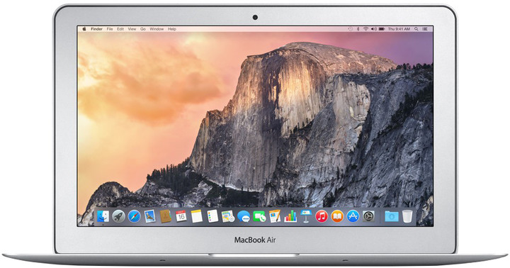 Apple MacBook Air 11, stříbrná