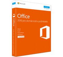 Microsoft Office 2016 pro domácnosti a podnikatele - T5D-02737