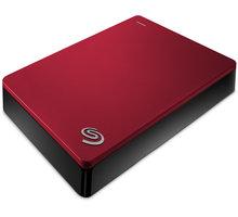 Seagate Backup Plus Portable - 5TB, červená - STDR5000203