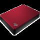 Seagate Backup Plus Portable - 5TB, červená