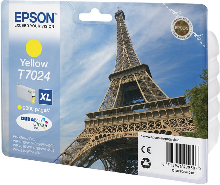 Epson C13T70244010, XL, Yellow