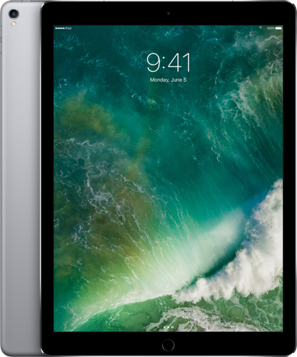APPLE iPad Pro Wi-Fi + Cellular, 12,9'', 256GB, šedá