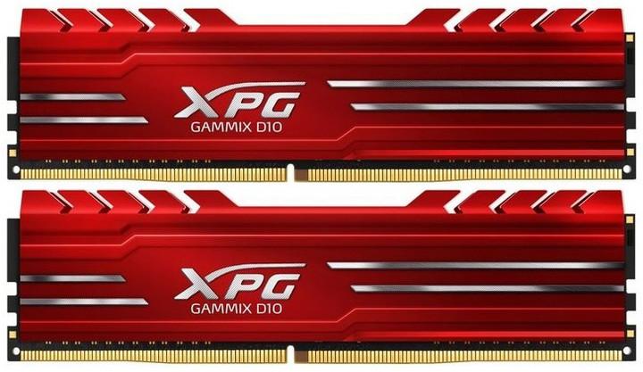 ADATA XPG GAMMIX D10 32GB (2x16GB) DDR4 3000, červená