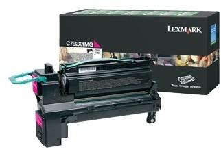 Lexmark C792X1MG, magenta, return