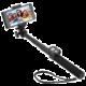 GoGEN 5 Selfie tyč teleskopická, bluetooth, černá  + Zdarma Power Bank GoGEN 2000mAh - černá/červená (v ceně 299,-)