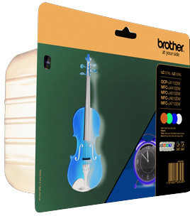 Brother LC-127XLVALBP - inkoust multipack- BK+CMY